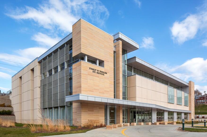 University of nebraska medicine stanley m truhlsen eye for Architecture firms omaha ne