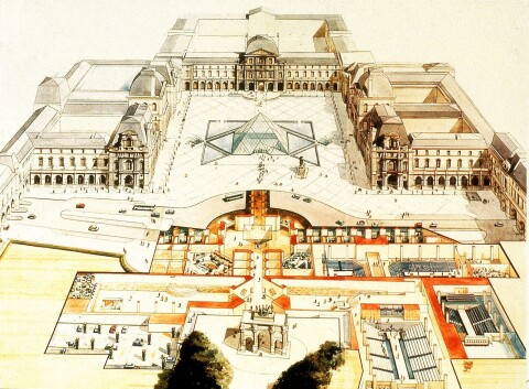 Louvre Pyramid The Folly That Became A Triumph Architect Magazine