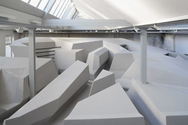 This Concept Office is Chair-Free | Architect Magazine