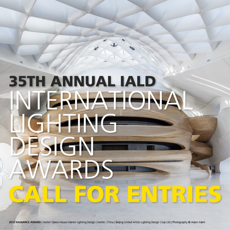 Courtesy iald the international association of lighting designers is now accepting