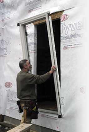 Flashing An Entry Door Jlc Online Exteriors Siding Doors