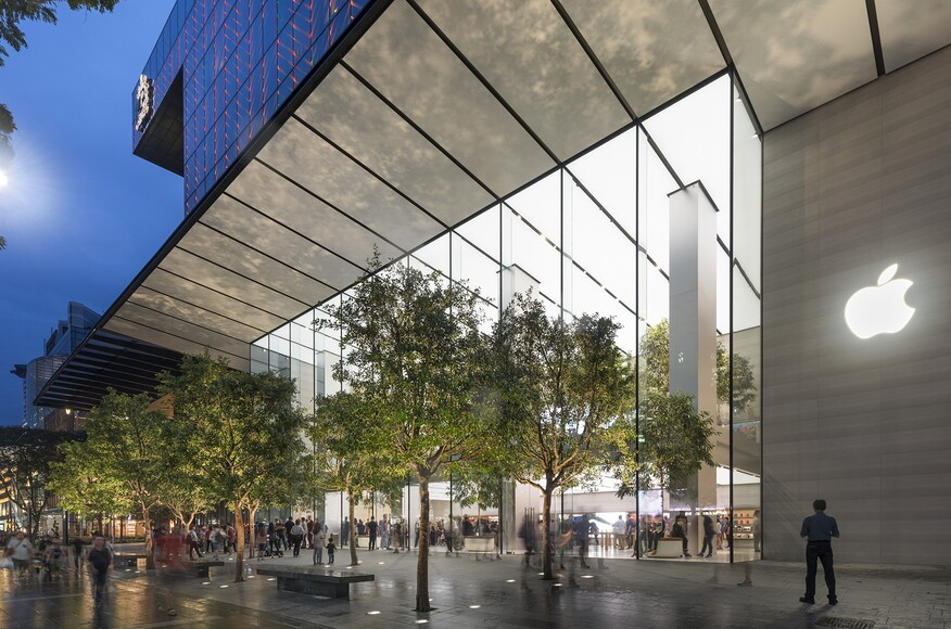 Apple Orchard Road Architect Magazine Foster Partners Singapore Commercial New
