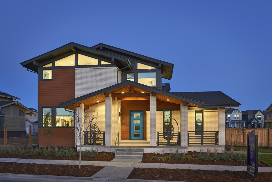Two denver builders find their niche in homes for gen x for Thrive homes denver