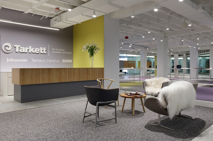 Tarkett Flooring Showroom And Design Lab Residential Architect Huntsman Architectural Group