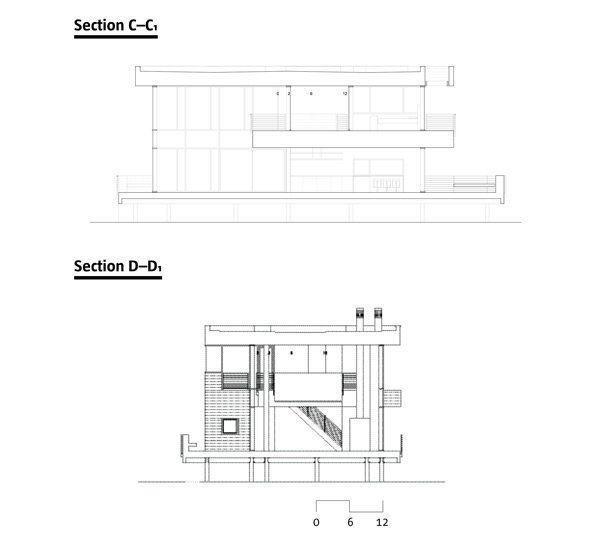 Fire Island House Designed by Richard Meier Partners Architect