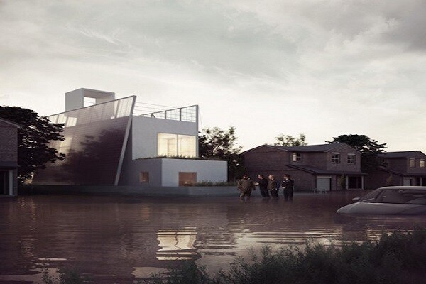 Free floating house floor plans ecobuilding pulse magazine aware of the dangers of flooding evermore immediate on the island that makes up the united kingdom london based carl turner architects has developed a new malvernweather Choice Image