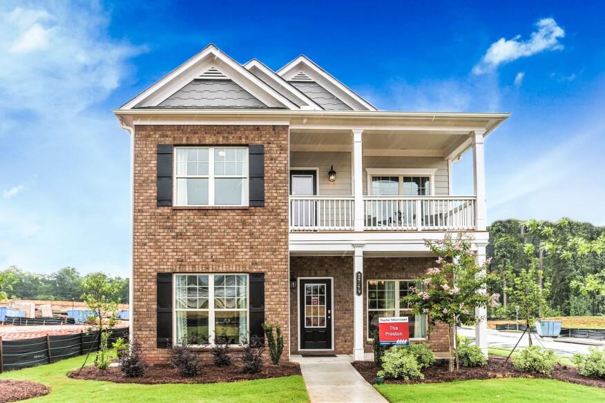 Offering 24 Floor Plans Taylor Morrison Has Success in Atlanta – Morrison Homes Floor Plans