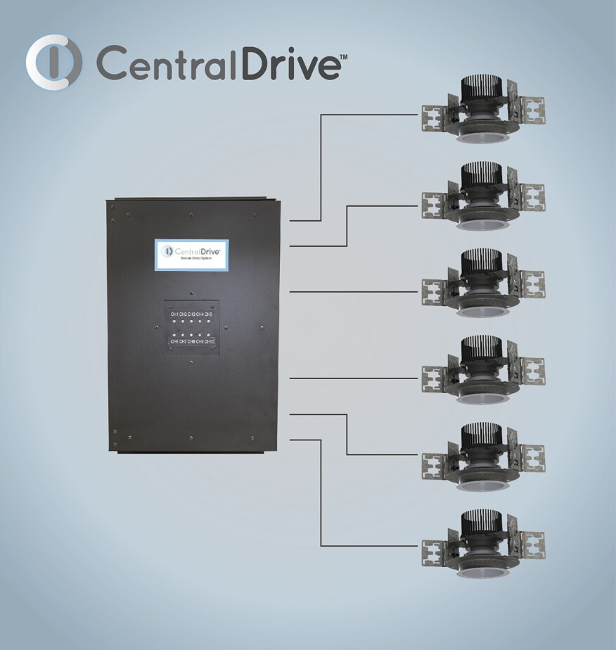 A Wall Mounted Remote Driver By Pathway Lighting Products