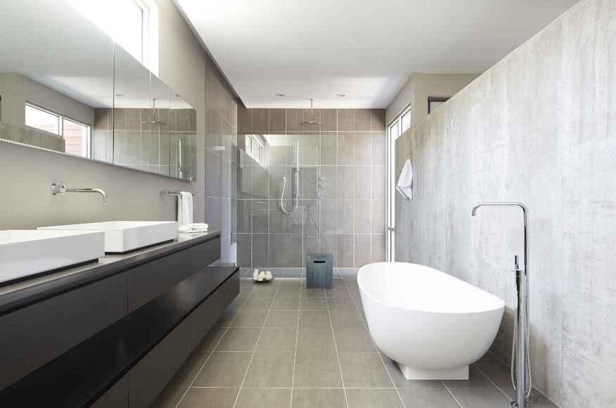 Riverview House Bath Custom Home Magazine Studio Dwell