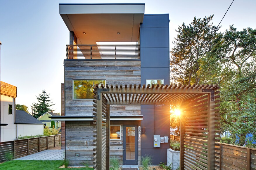 modern mailbox dwell. Two New High-performance Homes In Seattle Blend With Their Industrial  Neighborhood While Maintaining Courtesy Dwell Development Modern Mailbox Dwell