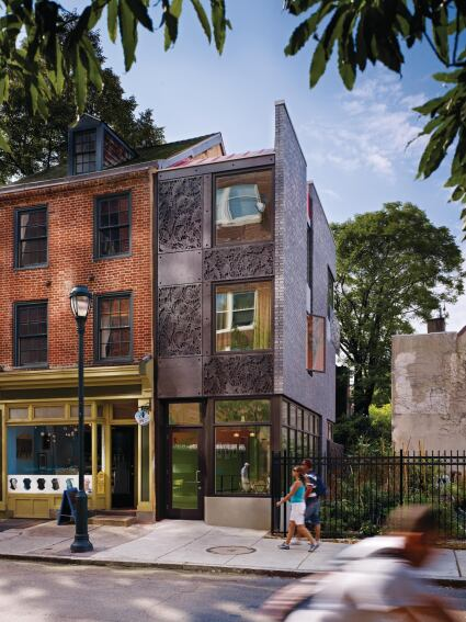 Locust Street Addition Philadelphia Custom Home Magazine