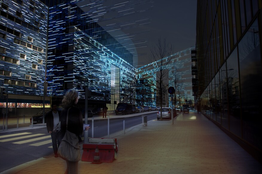 Future Of Urban Lighting Exhibition On View In Paris