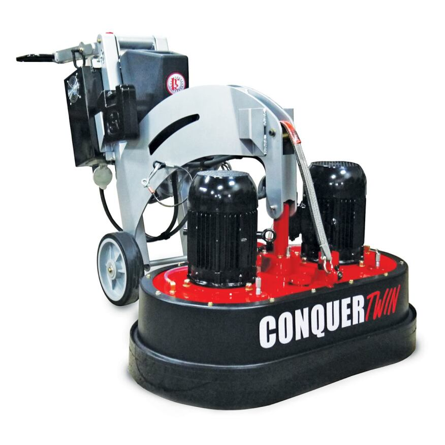 Kut Rite Mfg Co Conquer Twin Floor Grinder Polisher