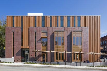 Genslers Daltile Showroom Architect Magazine Retail Projects - Daltile arlington tx