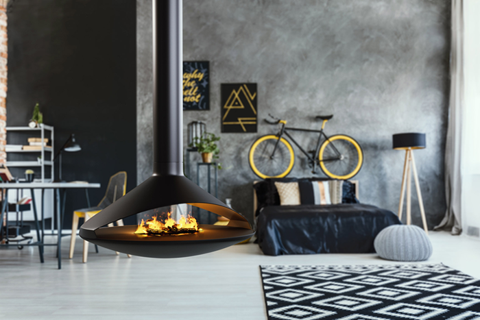 Vita Fireplace Collection By Cf D Architect Magazine Products Fireplaces 2018 Icff Custom Design