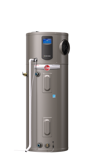 New Hot Water Heater From Rheem Reduces Energy Use By 73 The Prestige Series Hybrid Electric