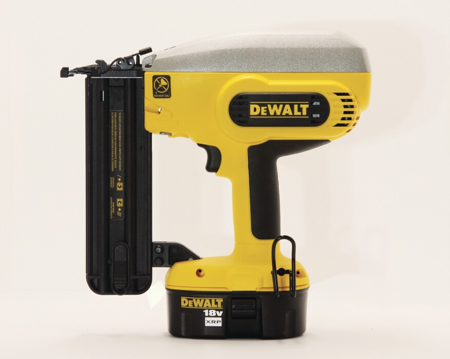 DeWalt DC608K Cordless Brad Nailer | Tools of the Trade | Nail Guns ...