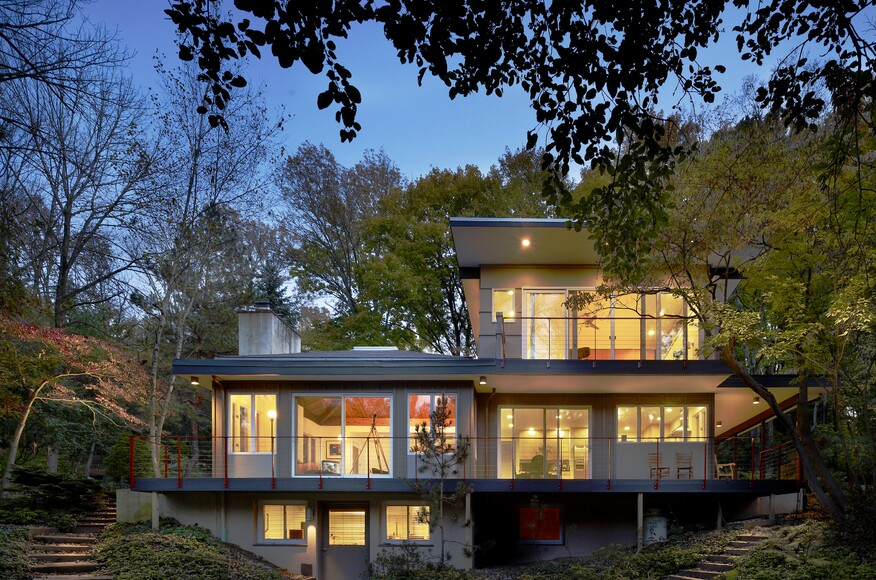 Tree Top House Architect Magazine Metcalfe Architecture Design