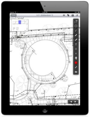 An app to streamline blueprint sharing builder magazine products plangrids interactive blueprint app lets project teams view share annotate and sync blueprints on an ipad and in the cloud by maintaining one master malvernweather Gallery