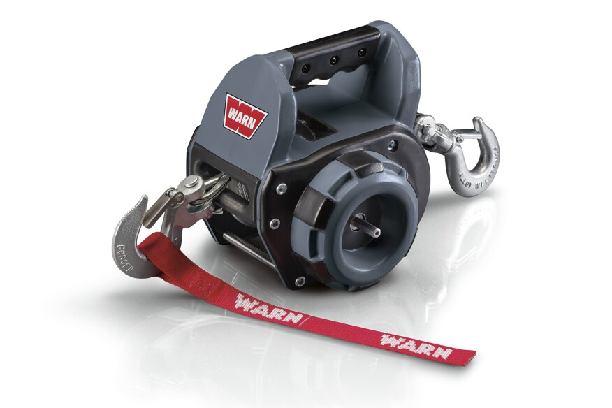 Warn Drill-Powered Portable Winch | Professional Deck Builder