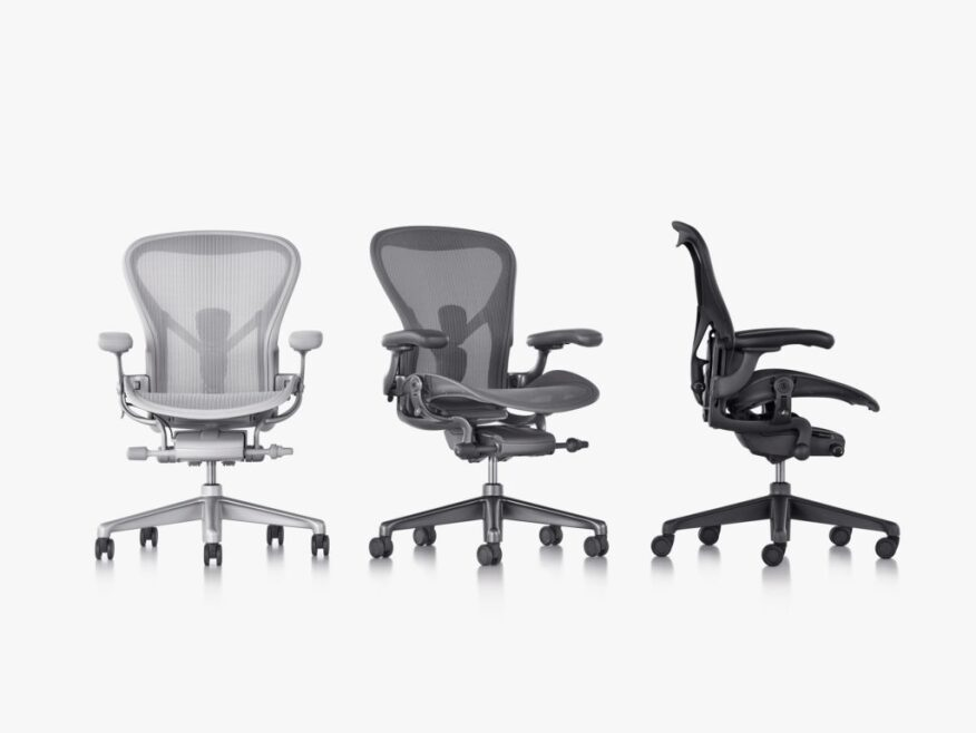 This Week in Tech: Herman Miller\'s Iconic Aeron Chair Gets Technical ...