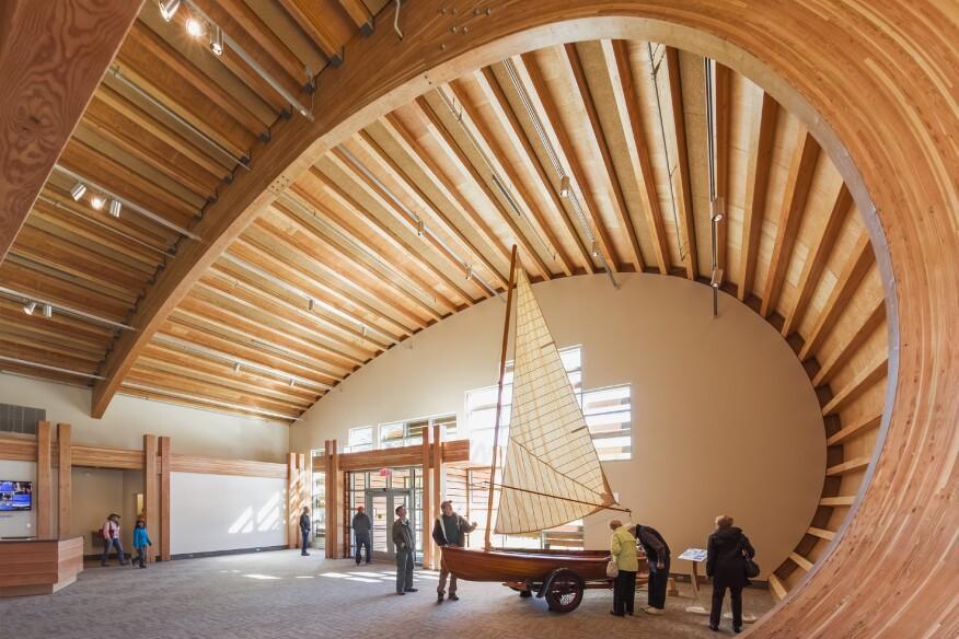 Thompson Exhibition Building Structure Architect