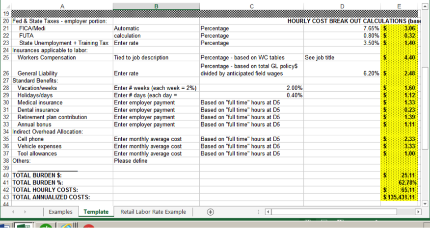 holiday expenses calculator