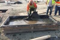 胶结土工织物使挖掘在时间和预算内