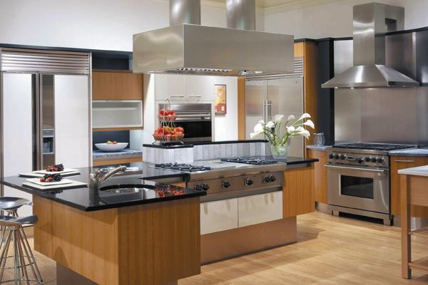 Commercial quality range hoods prizer hoods architect for Kitchen island hoods best top 10