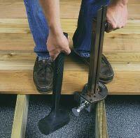 Fastening deck boards professional deck builder for Fiberon decking cost per square foot