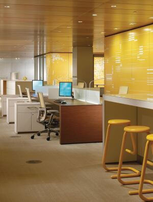 office work surfaces. This Desking Product, Part Of Haworths Compose Line, Includes A 29\ Office Work Surfaces ,