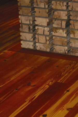 Antique Heart Pine Flooring From Trout River Lumber