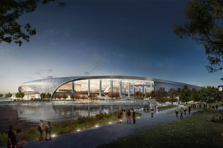 Los Angeles Rams Stadium | Architect Magazine | HKS