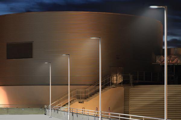 Ecoform Led Luminaire Philips Gardco Architectural