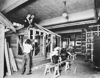 The Smith-Hughes Act of 1917 provided matching funds to states for vocational training set up in comprehensive high schools and rural Normal Schools. The law required a strict accounting on how states spent the funds.