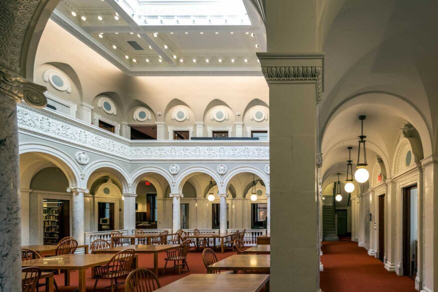 newman architects designs virginia library to be a downtown anchor