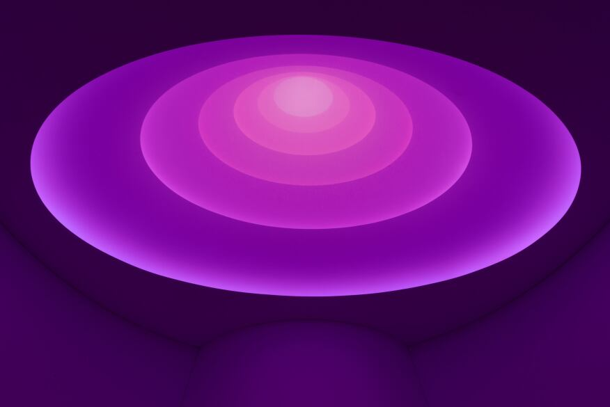 how james turrell makes his light artworks in los angeles houston