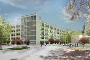 University S First Full Cast Concrete Parking Structure Public