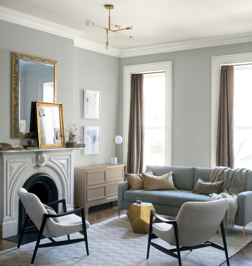 Custom Home Office Designs Classy Design Willams Std: Benjamin Moore's 2019 Color Of The Year Is 'Metropolitan
