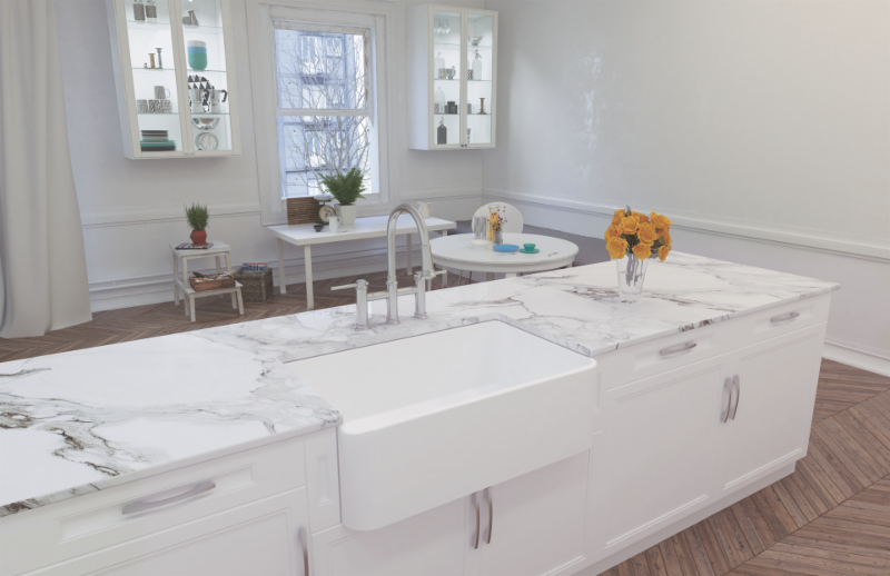 The Blanco Cerana Ii Fireclay A Front Sink Shown Here In White