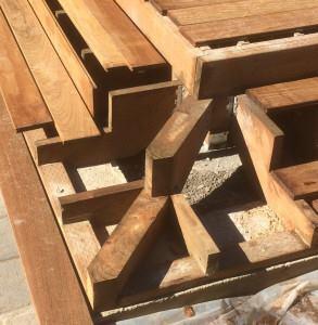 framing wrap around deck stairs professional deck builder