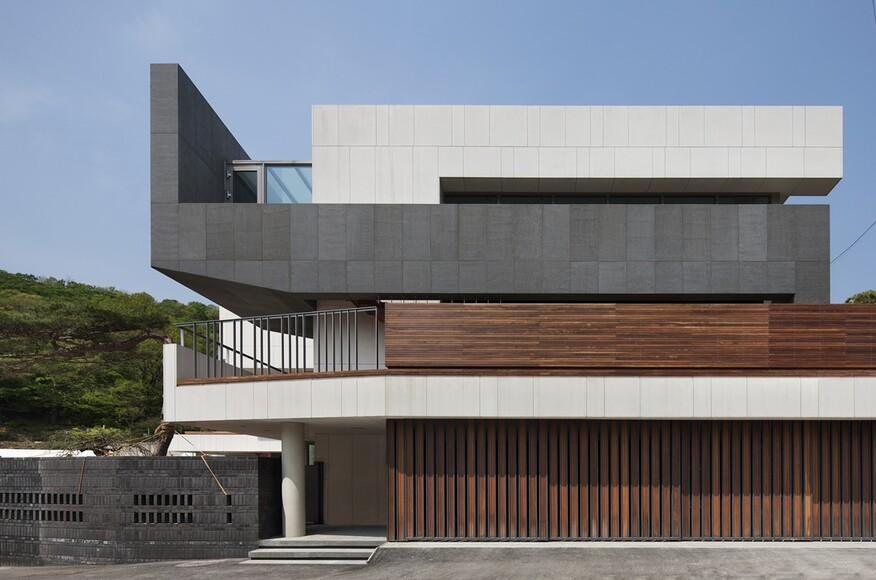 Customi zip residential architect gyeonggi do south for Modern view decking
