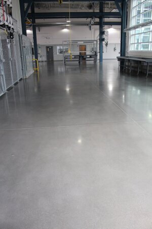 knoxville polished floor flooring staining construction dyon concrete