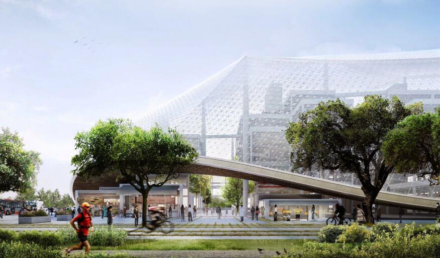 BIG and Heatherwick Studio Design a New Google Headquarters