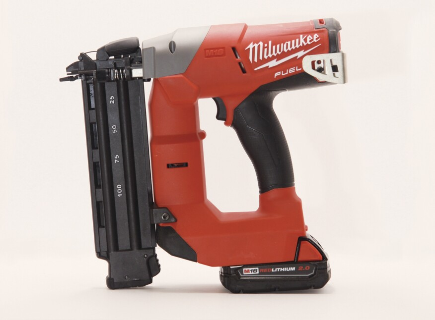 Milwaukee 2740-20 Cordless Brad Nailer | Tools of the Trade | Nail ...