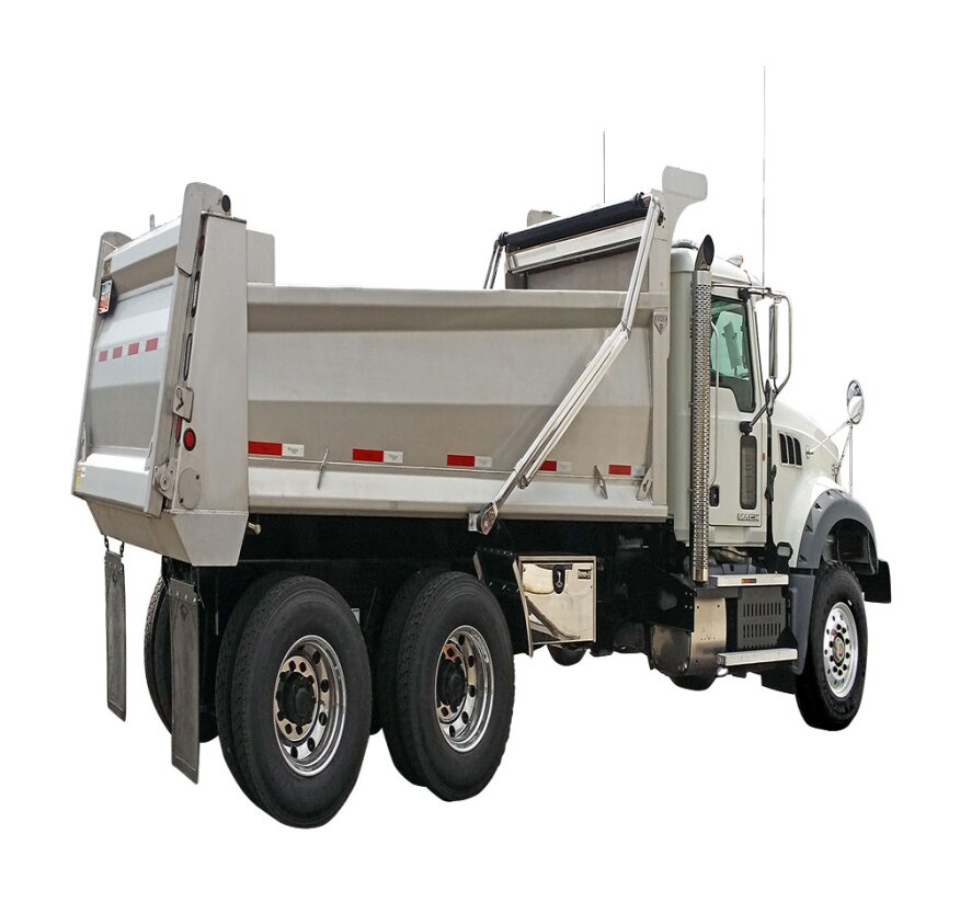 Stainless Steel Dump Truck Bodies From Beau Roc Concrete