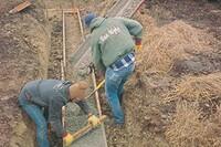 混凝土基础和土壤水分
