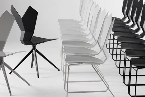 Six Chairs For Smart Contemporary Seating Architect Magazine - Black-and-white-interior-by-tom-atwoo