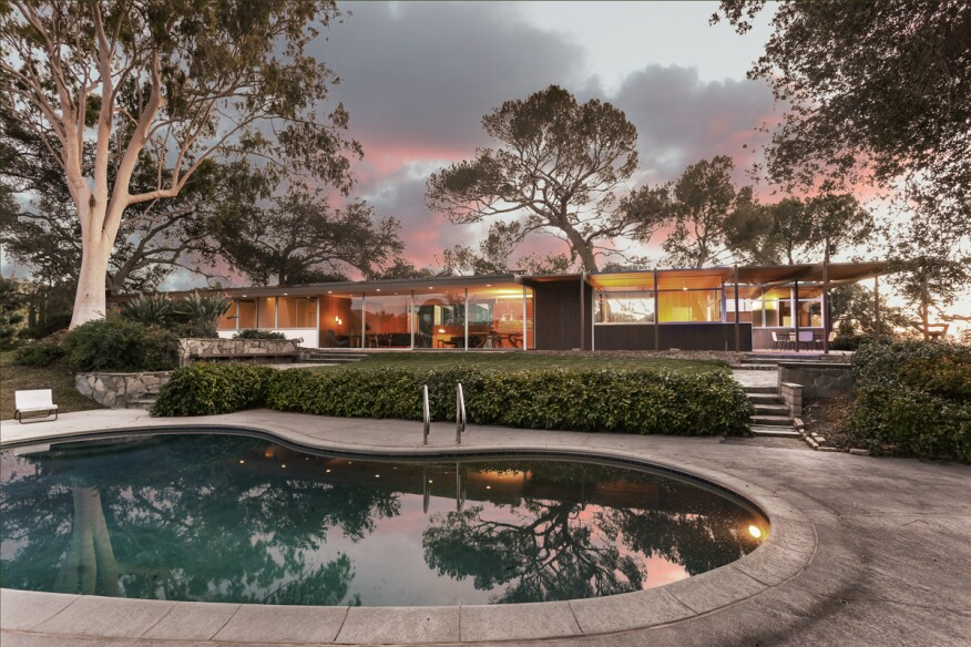 Richard Neutra Designed Modern Home Hits The Market