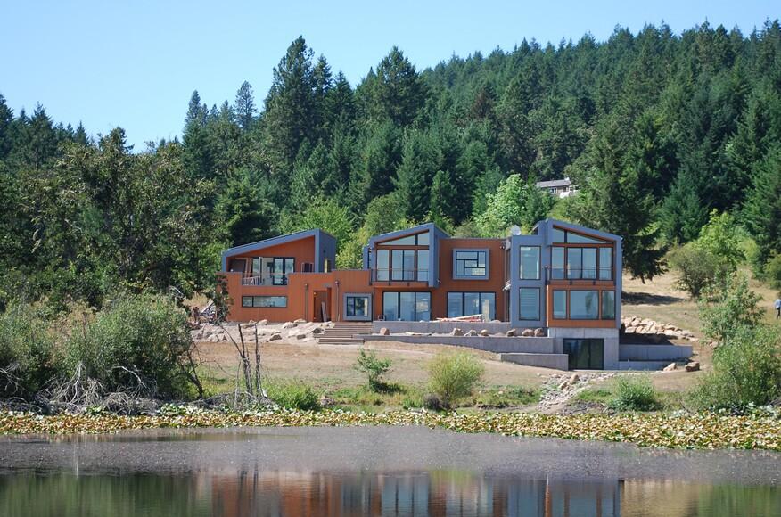 Spencer butte residence residential architect 2form for Residential architects eugene oregon